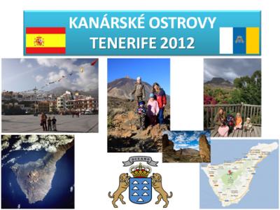 Kanárské ostrovy - ostrov Tenerife