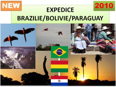 Expedice Brazílie/Bolívie/Paraguay